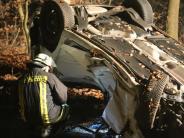 Kreis Unterallgäu: Autofahrer bei Unfall schwer verletzt