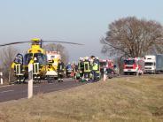 Unfall bei Unterkammlach: Zwei Schwerverletzte nach Unfall