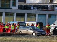 """Großeinsatz in Mindelheim: Polizei stellt Suche nach """"vermisster Person"""" ein"""