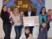 Spende: Eltern-Kind-Gruppen spenden für Grundschule in Indien