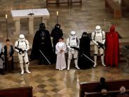 Kirchenmusik in Mindelheim: Was machen die Sternenkrieger vorm Altar?