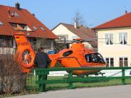 Notfall: Rettung aus der Luft nach Unfall in Bad Wörishofen