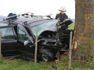 Tödlicher Unfall: Autofahrer stirbt nach Unfall bei Lauchdorf