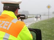 Blitzmarathon der Polizei: Mit 163 Sachen auf der Landstraße unterwegs