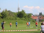 Fußball: Fokus aufs Spiel: Löwen schotten sich in Bad Wörishofen ab