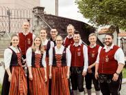Versammlung: Zufriedene Musiker in Haselbach