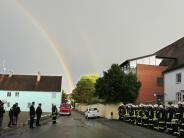 Sicherheit: Ein Regenbogen als Lohn