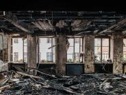 "Dillingen: Bürgermeister nach Rathausbrand in Dillingen: ""Wir bekommen das hin"""