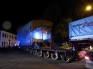 Bad Wörishofen: Schwertransport: Fast sieben Stunden für wenige Kilometer
