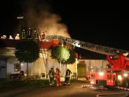 Unglück: Mann stirbt bei Großbrand