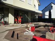 Feuerwehreinsatz: Kellerbrand in der Gartenstadt