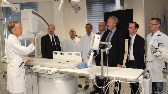 Gesundheit: Ein drittes Großgerät für die Klinik