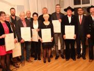 """Auszeichnung: Handwerk ehrt """"alte Hasen"""""""