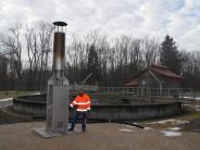 : Biogas-Fackel brennt noch immer