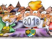 Satirischer Ausblick auf das neue Jahr: Handtuch-Störche und ein ganz neuer Duft