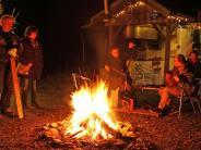 Nacht der Lichter in Tiefenried: Besondere Leuchten strahlen in der Winternacht