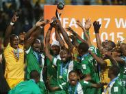 Fußball: Nigerias U17-Fußballer gewinnen WM-Titel: 2:0 gegen Mali