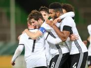Fußball: Deutsche U21 auf EM-Kurs: 4:2-Sieg gegen Österreich