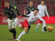 Erste Niederlage in 2016: Erfolgsserie der U21 gerissen: 0:1 gegen Polen