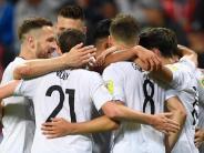 Confed Cup News-Blog: Confed Cup: Deutschland erkämpft sich 1:1 gegen Chile