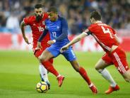 Testspiel gegen Frankreich: «Made in France»:Das teuerste Gütesiegel des Weltfußballs
