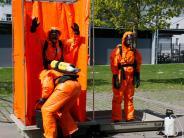 Feuerwehrübung: Auch nach dem Kalten Krieg fährt der ABC-Zug weiter