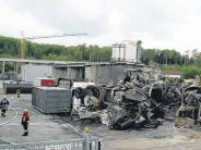 Brand: Großfeuer in Industriebetrieb