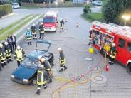 Prüfung: Nach dem Unfall noch ein Feuer