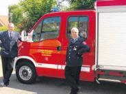 Fuhrpark: Neues Auto für die Feuerwehr