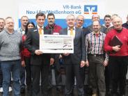 Spende: VR-Bank schüttet 80000 Euro an Vereine aus