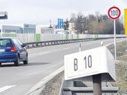Ulm: Tempolimit auf der B10 ausgeweitet