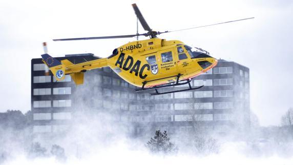 Luftretter starten auch bei eisiger Kälte - Augsburger Allgemeine