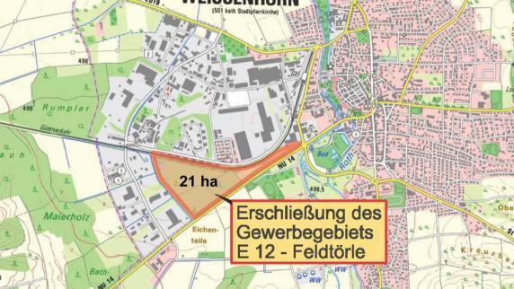 Weißenhorn: Gewerbegebiet verschlingt Millionen - Augsburger Allgemeine