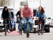 Aktionstage: Radler erobern die Innenstadt