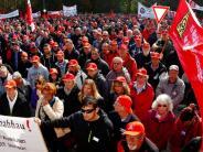 Elchingen: 2000 Mitarbeiter von Rexroth demonstrieren gegen die Sparpläne