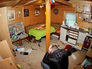 Senden: Brachialer Beutezug durch Gartenhäuser