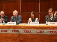 Ulm: Applaus für Wolfgang Schäuble in Ulm