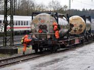 Ulm/Beimerstetten: Chemikalie ausgetreten: Gefahrguteinsatz bei Ulm