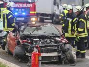 Elchingen: Unfälle auf A8 legen Verkehr teilweise lahm