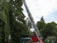 Einsätze: Unwetter hält Feuerwehren auf Trab
