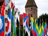 Ulm/Neu-Ulm: Tatort Donaufest: Fahnen sind bei Dieben begehrt