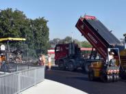 Ulm: Brücke über Westringtunnel neu asphaltiert