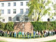 Weißenhorn: Menschenkette für den Frieden in Weißenhorn