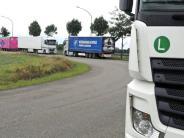 Neu-Ulm: Schwaighofens Last mit den Lastern