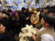 Münsterbauhütte: Steinmetze lassen sich über die Schulter blicken