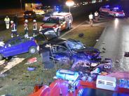 Polizei: Frontal-Zusammenstoß auf der Europastraße