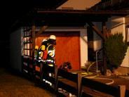 Thal: Feuer: Austrägerin rettet Seniorin das Leben