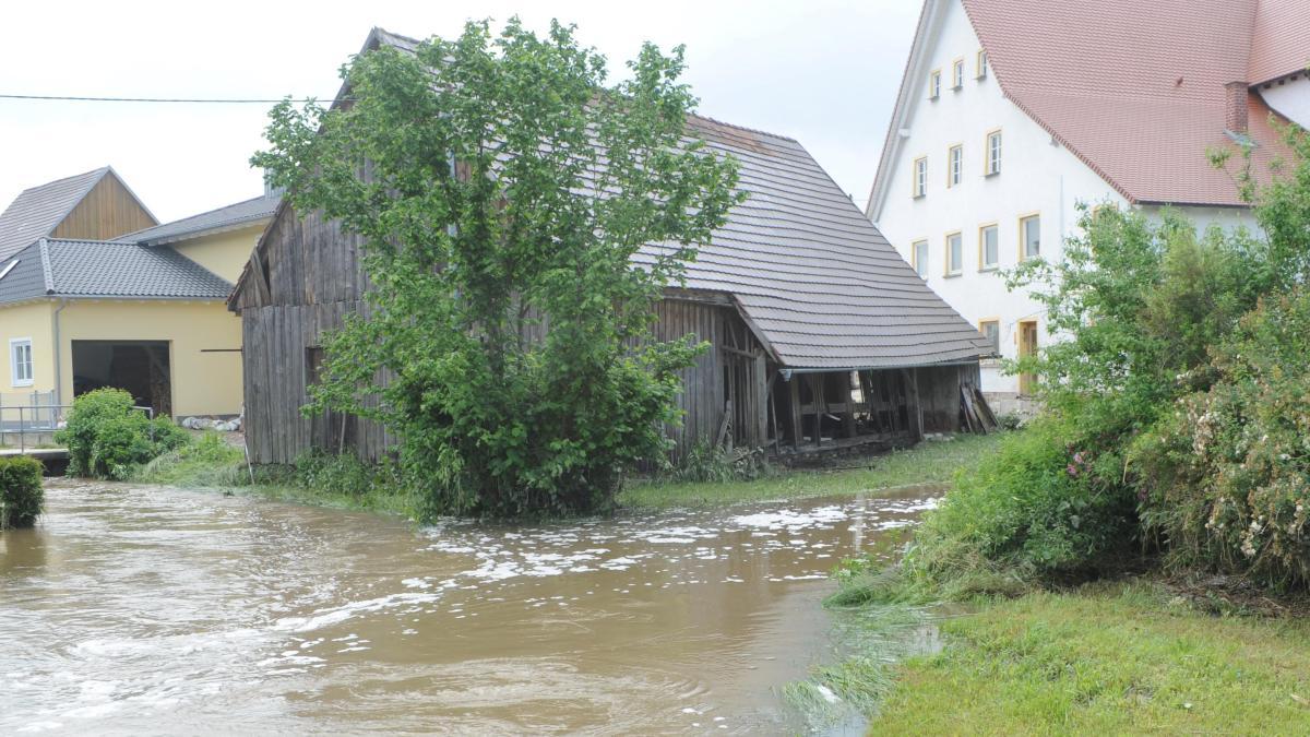 Kleine Fortschritte beim Schutz vor Hochwasser - Augsburger Allgemeine