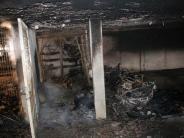 Senden: Tiefgarage brennt – 100000 Euro Schaden