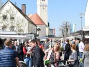 Pfaffenhofen: Frühjahrsmarkt lockt wieder die Massen